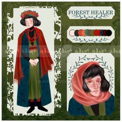 [OPEN] ADOPT AUCTION FOREST HEALER by ZlayaVlada