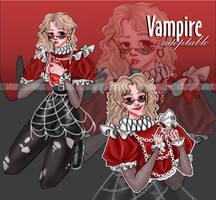 [OPEN] adopt auction halloween vampire by ZlayaVlada