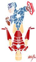 Cap + Iron Man: American Heroes