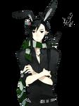 Anime Bunny Boy Render