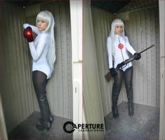 Portal: Target Acquired Bitch by thecreatorscreations
