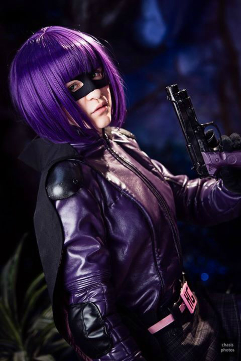 Hit Girl: She's A Bad Girl by thecreatorscreations