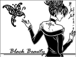 Sketchbook: Black Beauty