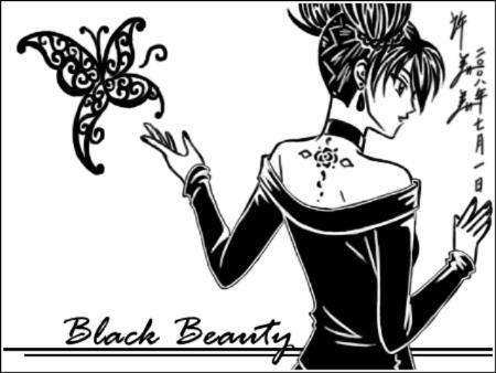 Sketchbook: Black Beauty