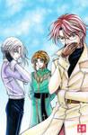 Hear, See, and Speak No Evil by kurohiko