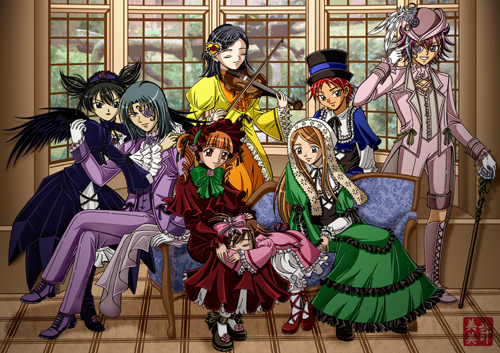 Onegai My Rozen Maiden Melody by kurohiko