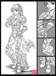 Commission: Blood Elf by kurohiko