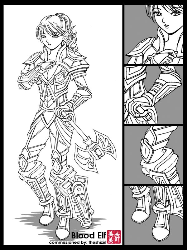 Commission: Blood Elf