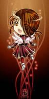 Chibi Fire Angel