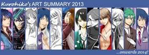 Kurohiko's Art Summary 2013