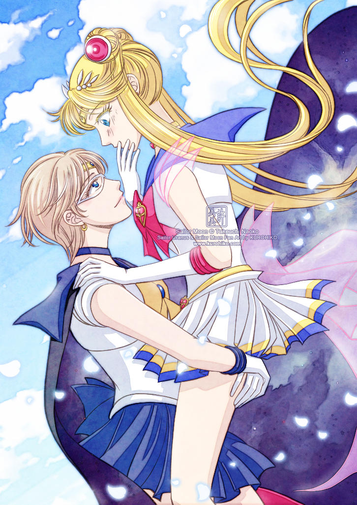 Sailor Moon Crystal - Uranus And Moon
