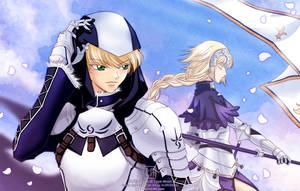 King Arthur and Jeanne d'Arc