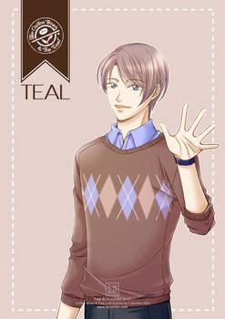 Gijinka #2: Teal (Coffee Bean and Tea Leaf)