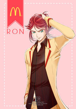 Gijinka #4: Ron (McDonald's)