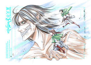 Raffle Prize: Shingeki no Kyojin for Marielle