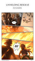 COMMISSION: Unyielding Resolve - page 1