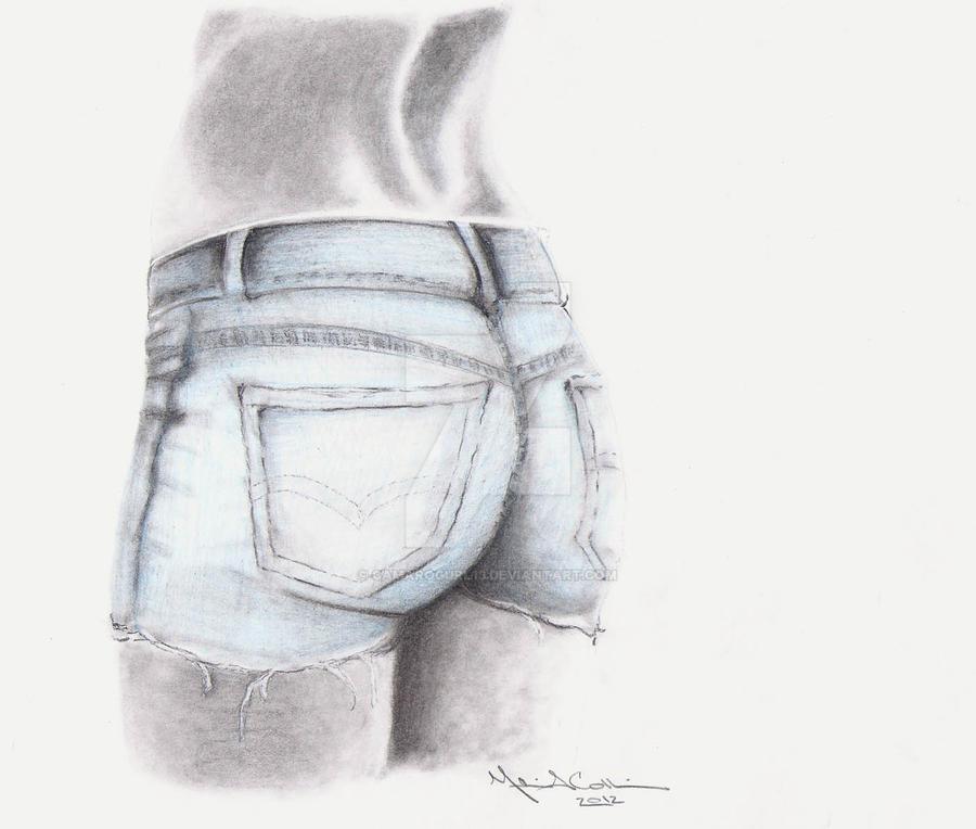 Прикольные рисунки в шортах, для