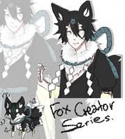[CLOSE] Adoptable - Fox kemonomimi [Fox Creator] by sayremin