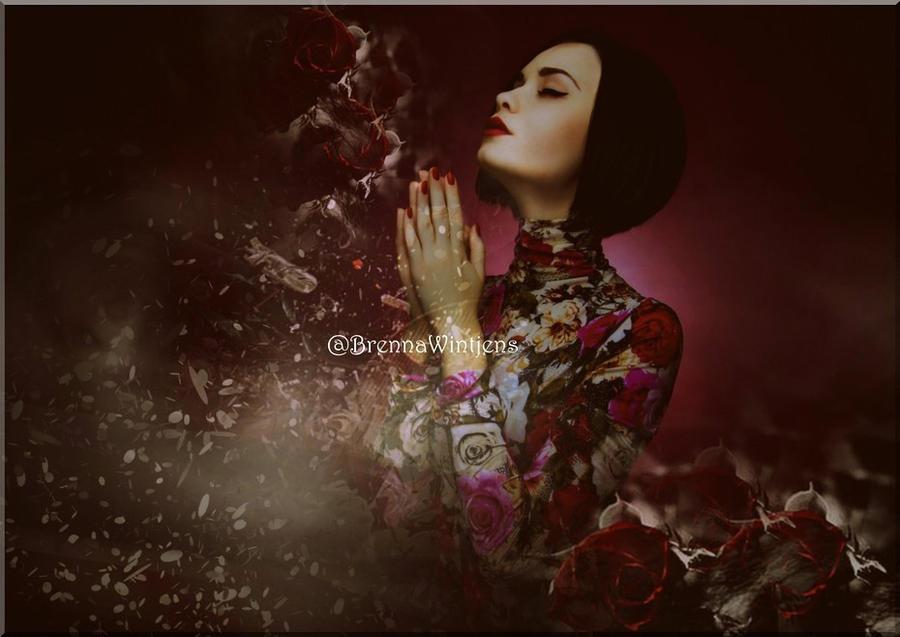 I Never Promised u Roses by BrennsArtAttic