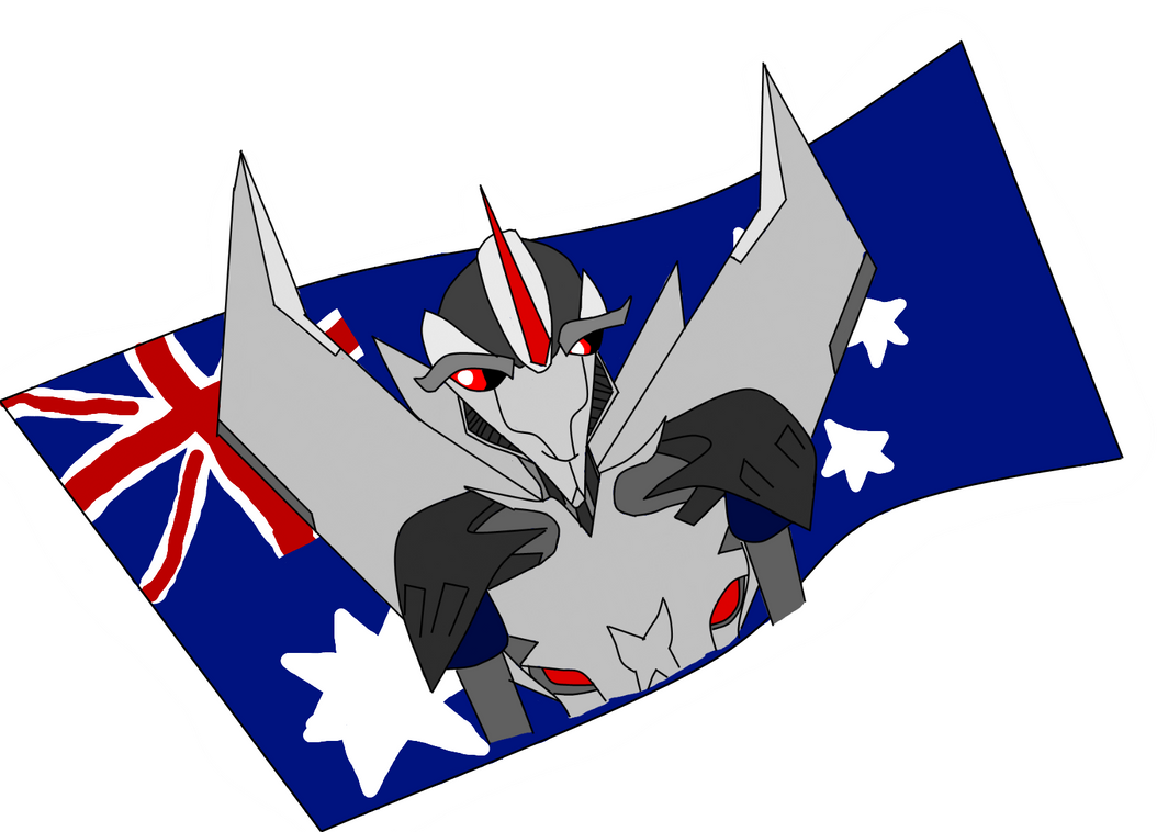 starscream australia sticker 2 by MalachiteMachine
