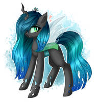 Queen Chrysalis by QueenOfSilvers