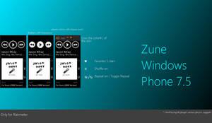 Zune Windows phone 7.5