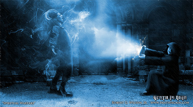 Spiritual Warfare by deathisgain713 on DeviantArt: deathisgain713.deviantart.com/art/Spiritual-Warfare-152222278
