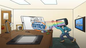 Teutron banner contest entry by HelloImRame