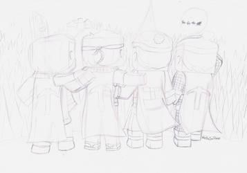 Christmas ADVENTure 2013 sketch by HelloImRame