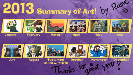 Rame's 2013 Summary of Art
