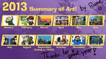 Rame's 2013 Summary of Art by HelloImRame