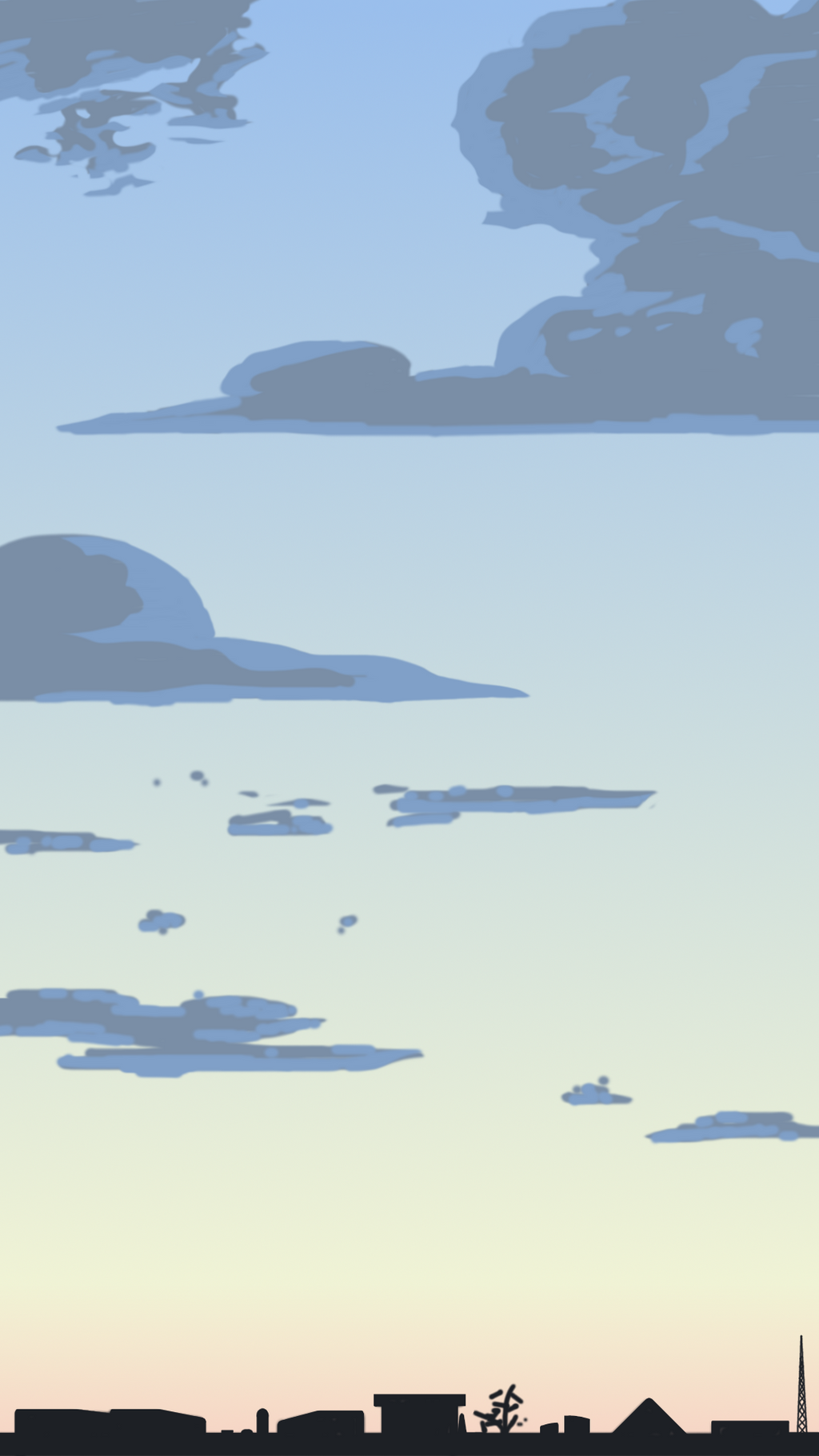 cool sky practice 11-10-2014 by HelloImRame