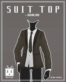 [MMD] Suit Top [+Download]