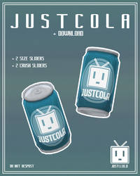 [MMD] JustCola (Soda Can) [+Download]