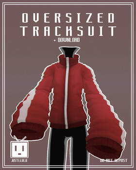 [MMD] Oversized Tracksuit [+Download]