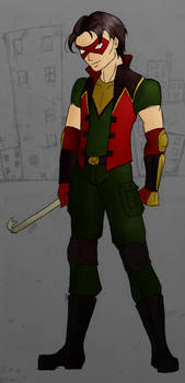 Jason Todd -- Robin Redesign