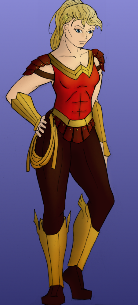 Wonder Girl II Redesign by StolenThunder