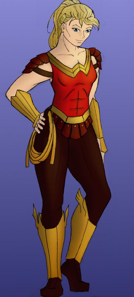 Wonder Girl II Redesign by StolenThunder