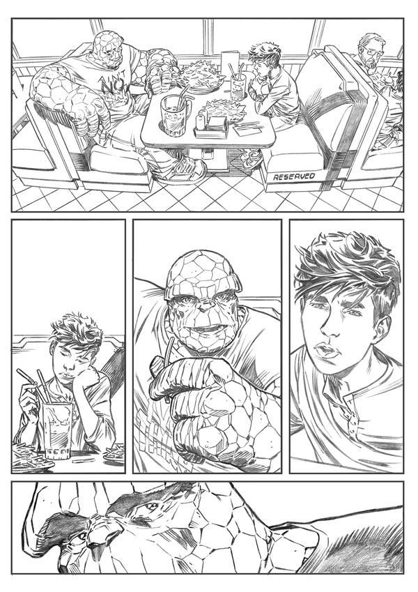 Fantastic Four page 1