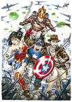 Captain America, WW, Indy and The Rocketeer