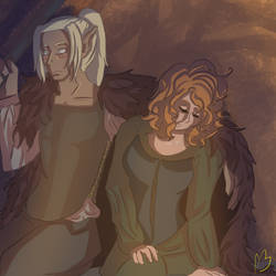 Gwen and Ghil as Teenagers