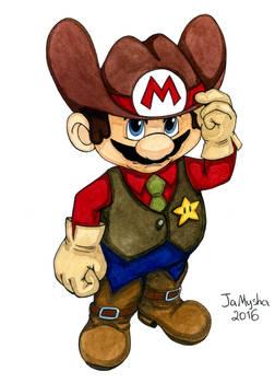 Super Mario character - Wild West v.01