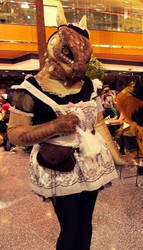 The Lusty Argonian Maid by Plus3Defense