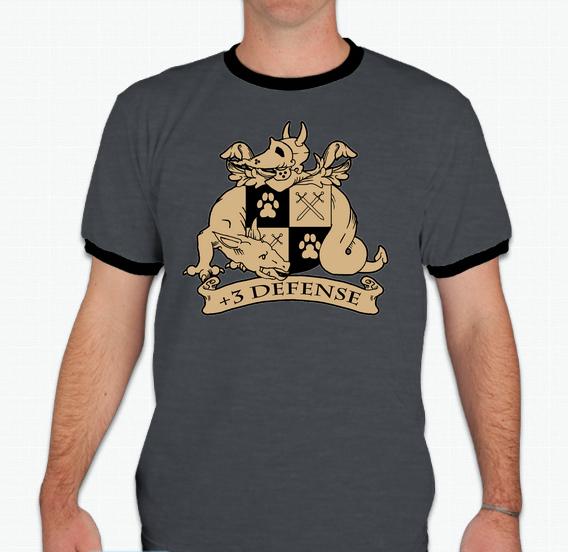 +3 Defense Shirt Preorder by Plus3Defense