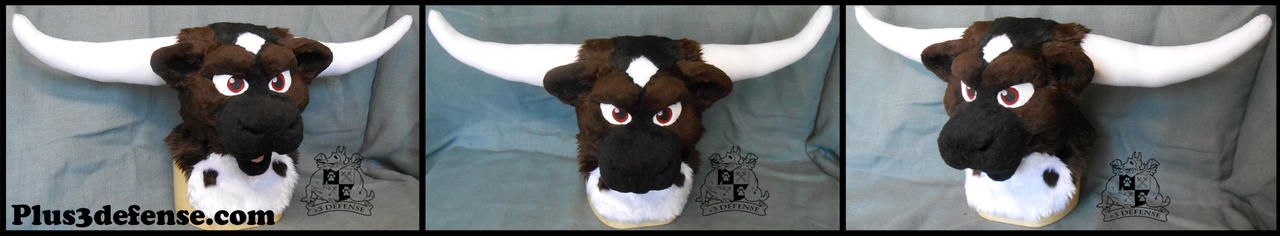 Bull Partial by Plus3Defense