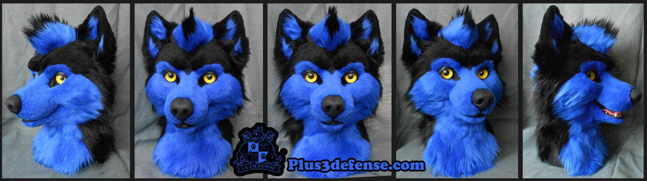 Husky Head by Plus3Defense