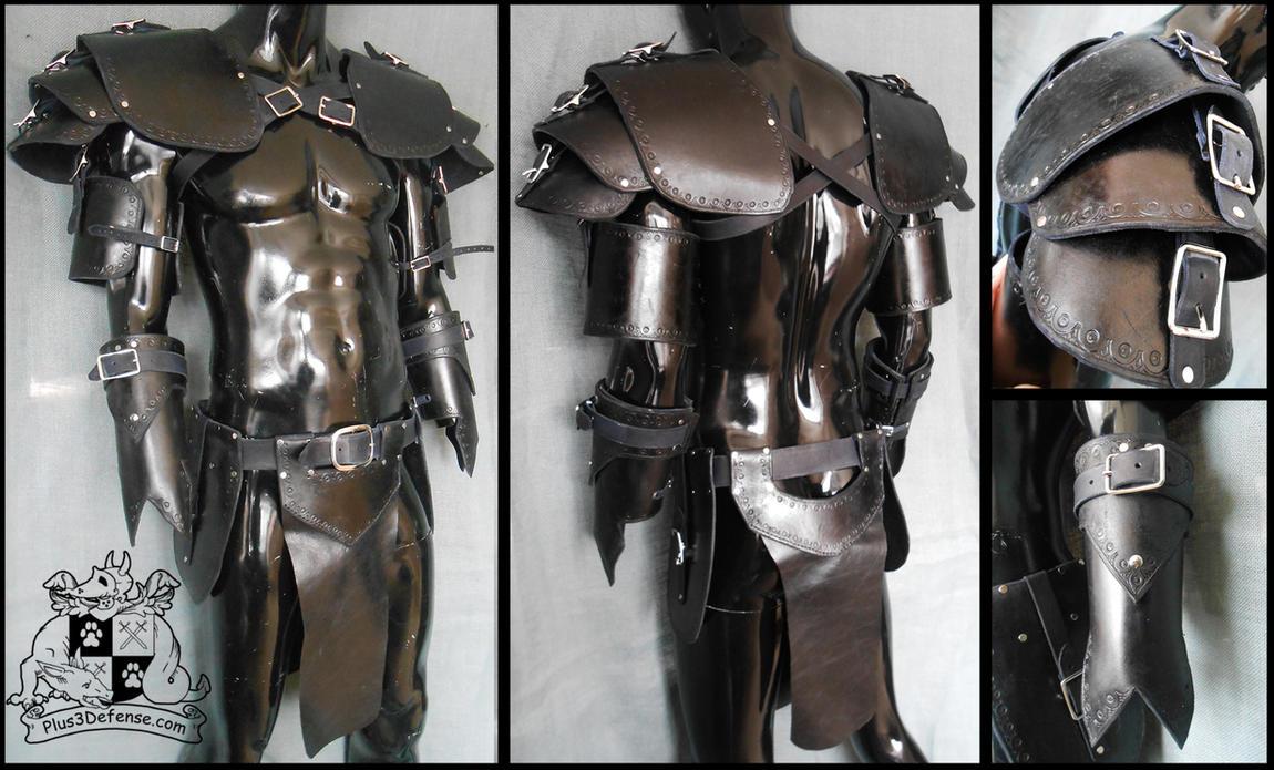 Black Armor Set by Plus3Defense