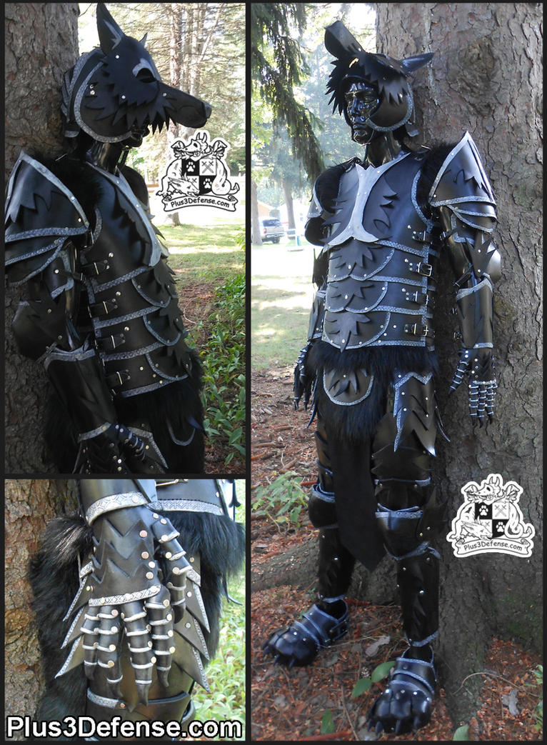 Black Wolf Armor by Plus3Defense
