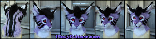 Wolfie the Bobcat Partial by Plus3Defense