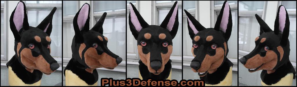 Doberman Mask by Plus3Defense